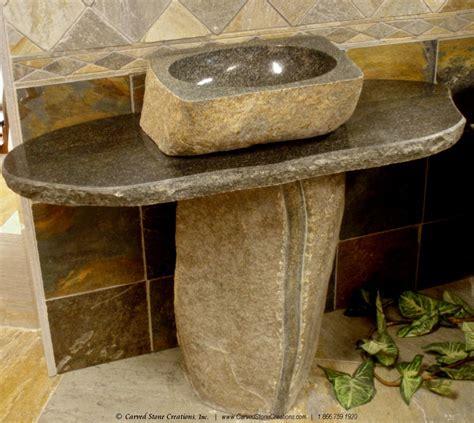 marble pedestal sink vanity stone pedestal sink befon for