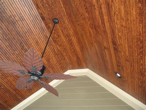tongue and groove cedar ceiling installation home design