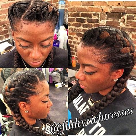 two inderbraids 31 goddess braids hairstyles for black women page 32