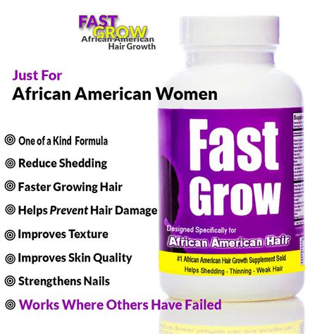 Hair Growth Pills For African Americans | fast grow vitamins for hair growth for african american