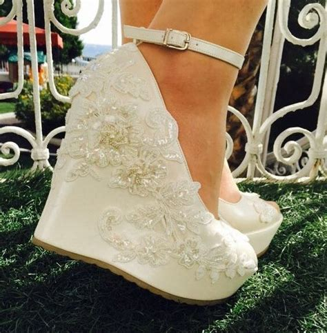 Best 25  Bridal wedges ideas only on Pinterest