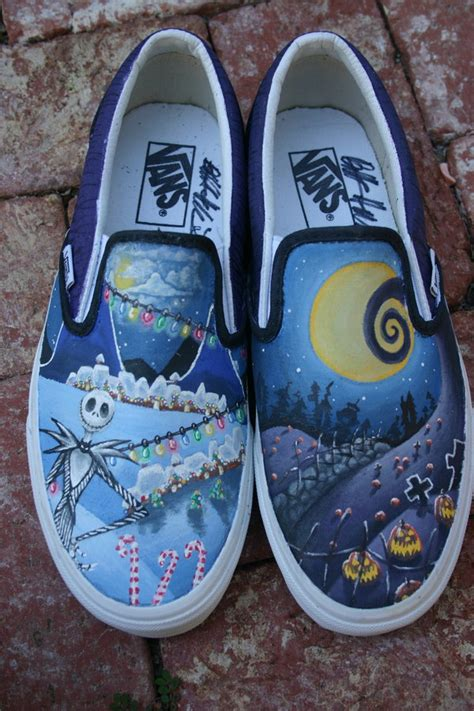 Nightmare Before Sneakers by Nightmare Before By Tozi On Deviantart
