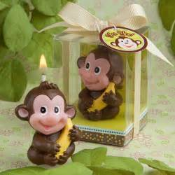 Monkey Favors by Adorable Monkey Candle Baby Shower Favor