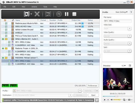 converter mov to mp4 xilisoft mov to mp4 converter convert quicktime video