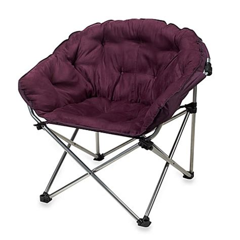 purple folding chair folding club chair in purple bed bath beyond