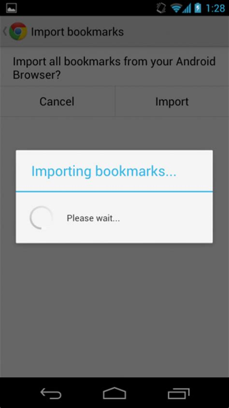 bookmarks android how to import bookmarks to chrome for android from android browser