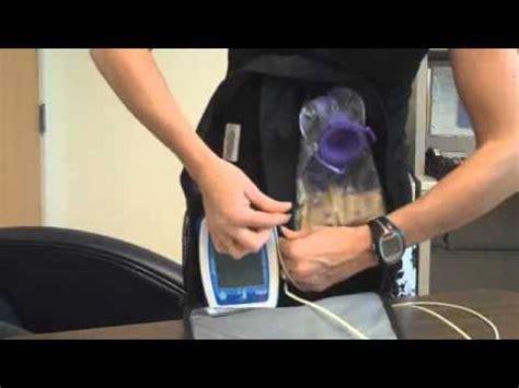 11 of 11 loading feeding pump backpack procedure youtube