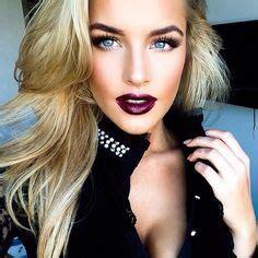 blonde hair purple lipstick dirty blonde wearing purple lipstick google search