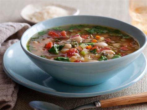 best veg soup recipe tuscan vegetable soup recipe ellie krieger food network