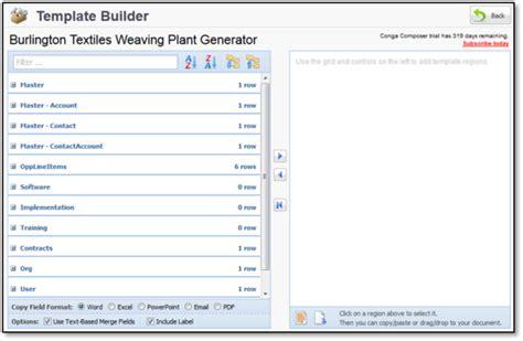 conga composer template builder choice image templates