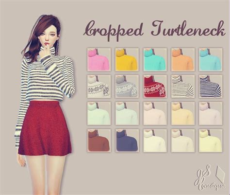 sims 4 updates sims finds sims must haves free sims cropped turtleneckdownload google drive ii adfly