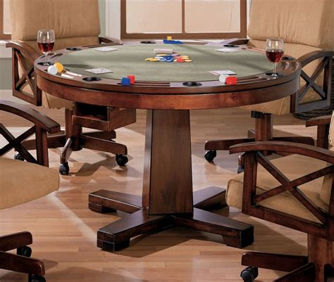 l with table combination dining room pool table combo best furniture sets of also