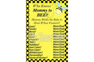 baby shower game bumble bee baby shower game printable baby