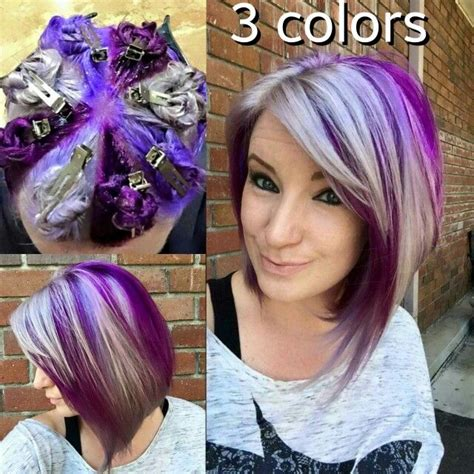 color pattern for short hair hot new hair coloring technique pinwheel color