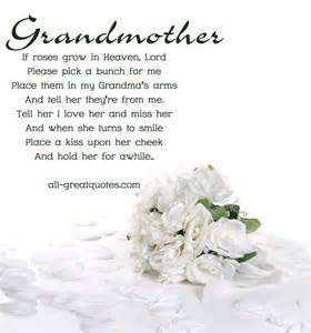 Birthday Quotes For Grandparents 25 Best Ideas About Grandmother Poem On Pinterest