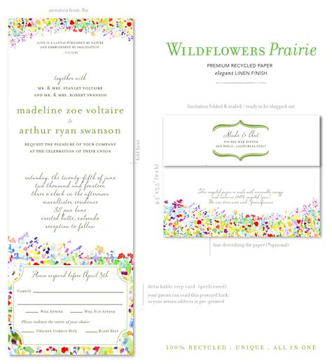 wedding invitation with rsvp attached for wedding invites with rsvp attached