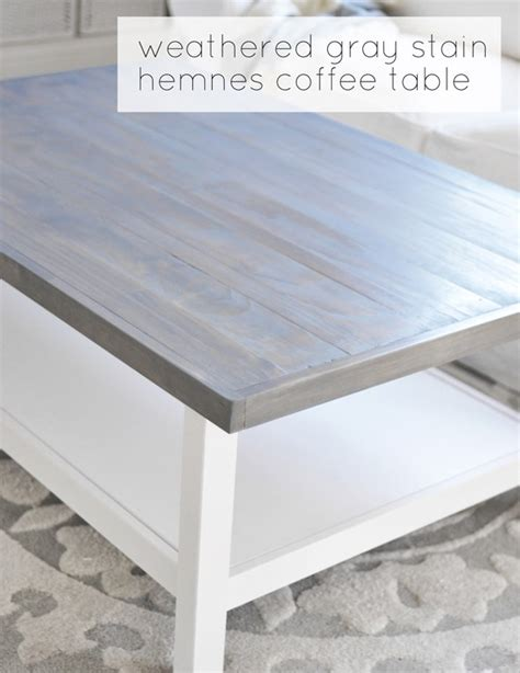 weathered white coffee table weathered gray coffee table centsational