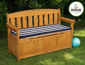 Garden Storage Bench Diy Outdoor Storage Bench Woodworking Projects
