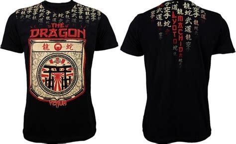 Venum American Fighter Shirt Black ufc on fox 4 walkout shirts