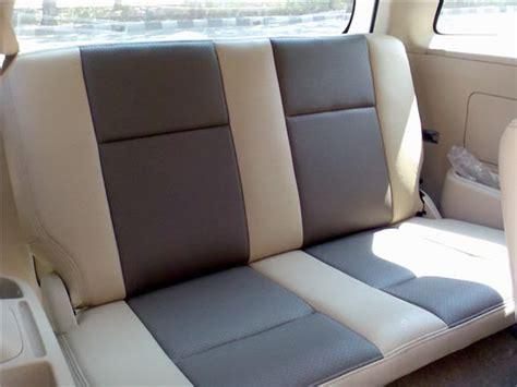 Sarung Jok Mobil Kijang Innovaportunerpajero Bahan Porche 3 jok kulit terios