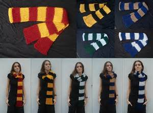 hogwarts house colors hogwarts house colors influenced scarves