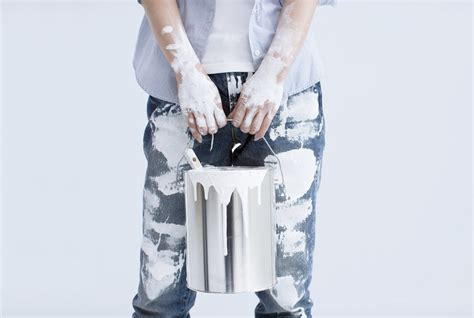 how to get paint out of clothes real simple