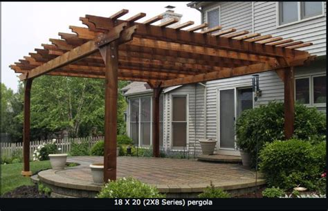 large pergola patio ideas pinterest