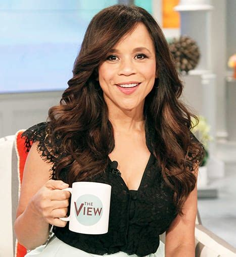 Rosie Exits Revolving Door Of The View by Rosie Perez Leaving The View For Real This Time The