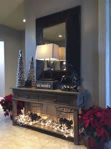 Front Entry Table Decor 38 Cozy And Inviting Winter Entryway D 233 Cor Ideas Digsdigs