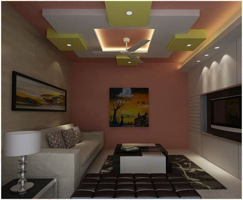ceiling pop designs for small room home combo