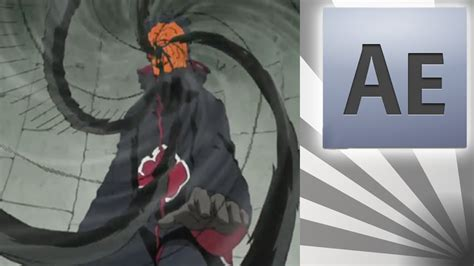 tutorial after effect naruto efeito teletransporte tobi naruto after effects cs4