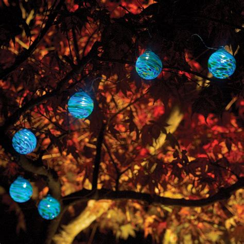 Solar Powered Patio String Lights Allsop Home Garden Glow Led String Lights Lowe S Canada
