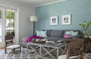 Charcoal And Blue Living Room by Aqua Blue And Charcoal Gray Living Room Design