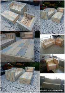 Patio Furniture Made From Pallets Outdoor Furniture Made With Pallets 99 Pallets