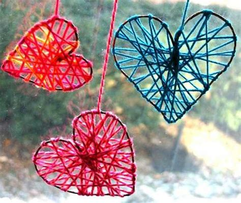 Handcrafted Hearts - valentines day ideas for decorating ceiling pendant