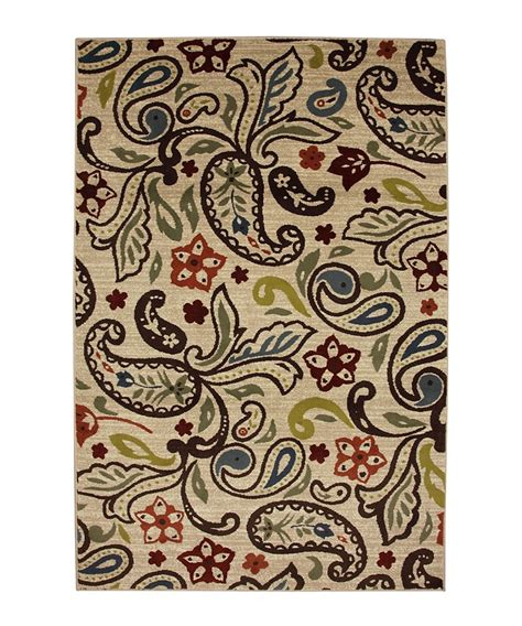 Paisley Area Rug Retro Paisley Area Rug By Mohawk Home For The Home Mohawks Retro And Bedrooms
