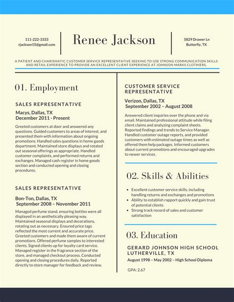 resume format 2017 your perfect guide