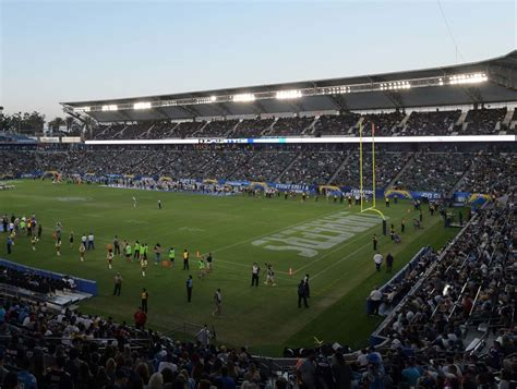 chargers home fouts embarrassing for chargers to play at stubhub