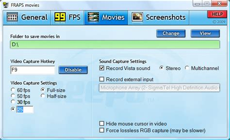 fraps full version review guide on how to use fraps for recording stereoscopic 3d