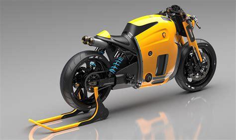 Husqvarna Motorrad Werk by Koenigsegg概念摩托车设计