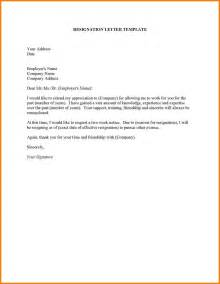 how make a resignation letter image collections letter format exles