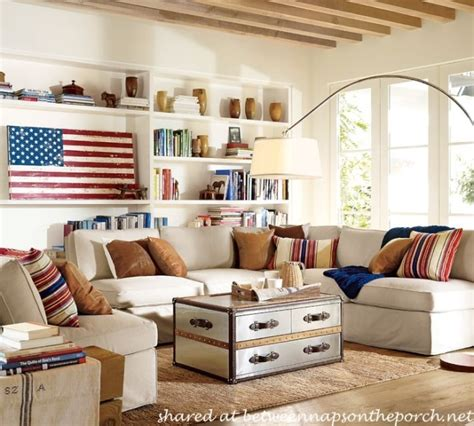 americana home style not just for july 4th anymore patriotic beach and nautical inspired tablescapes