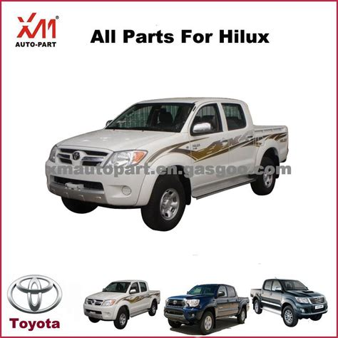 Toyota Spare Parts Toyota Hilux Up Spare Parts Guangzhou Xm Auto Parts