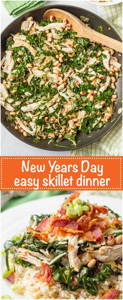 new year dinner bc southern new year s day dinner skillet recipe