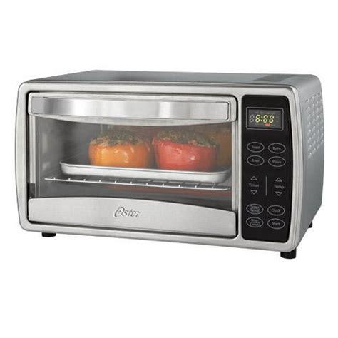 Oster Digital Toaster Oven oster tssttvdgsm digital 4 slice toaster oven 150 450
