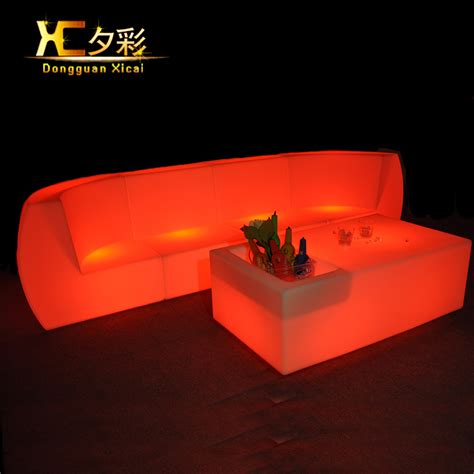 the couch bar led living room furniture luminous bar couch color