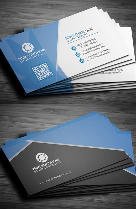 professional card templates 25 professional business cards template designs design