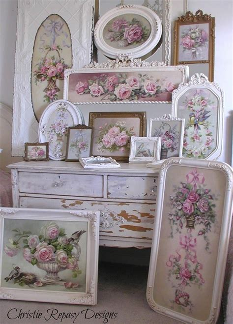 493 best decor shabby chic images on pinterest antique furniture painted furniture and