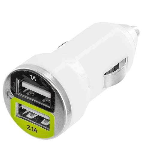 2 Port Car Charger by Color Dual 2 Port Usb Dc Car Charger 2 1 1 For Cell