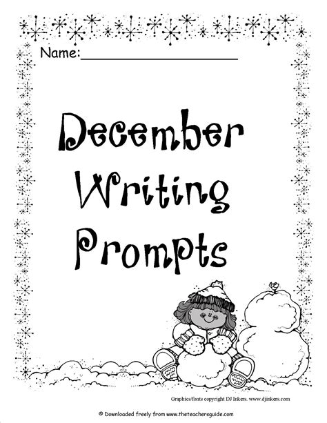 christmas writing activities for 2nd grade 18 best images of writing prompts worksheets writing prompt 2nd